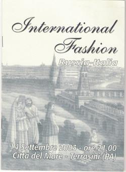 2003 - INTERNETIONAL FASHION