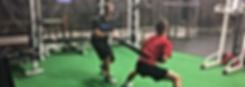 Coach shawn winner training athlete resitance band workout gym weightroom