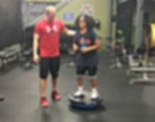 coach shawn training athletes
