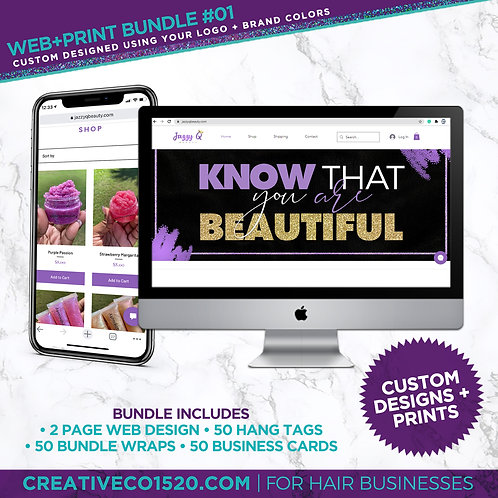Web+Print Package #1