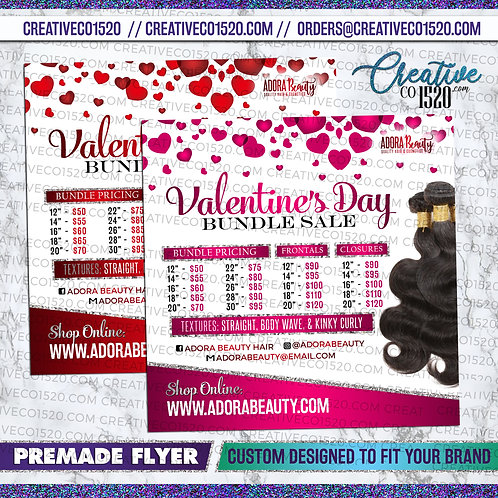 Valentine Flyer - Bundle Sale