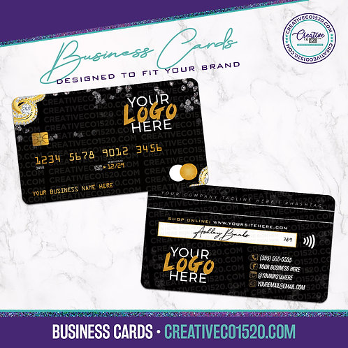 Credit Card Style Business Card 7