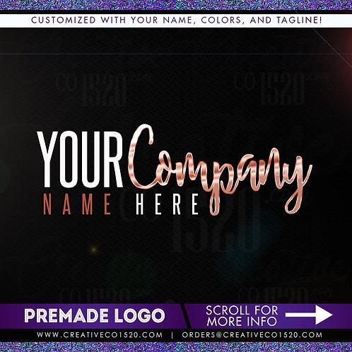 Premade Logo Design 03