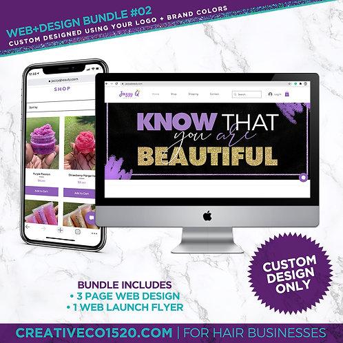 Web+Design Package #2