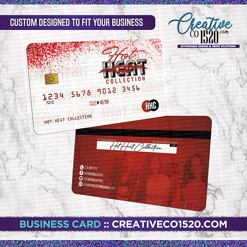 Credit Card Style Business Card 5