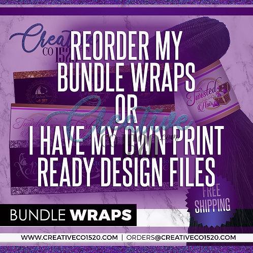 Printed Bundle Wraps