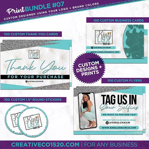 Design+Print Package #07
