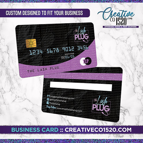 Credit Card Style Business Card 3