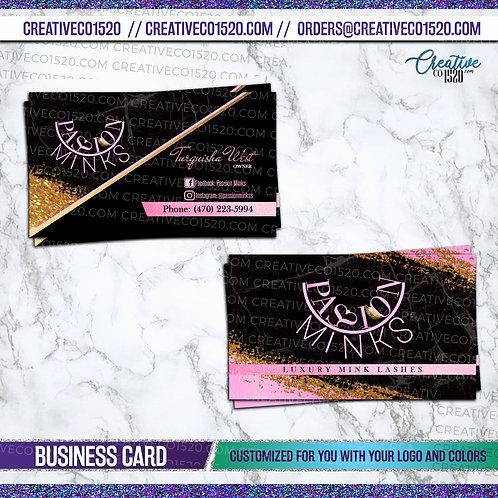 Glitter Business Card 2