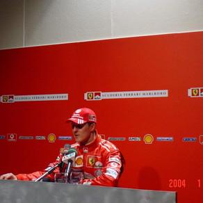 Michael Schumacher's mysterious cap - 2004