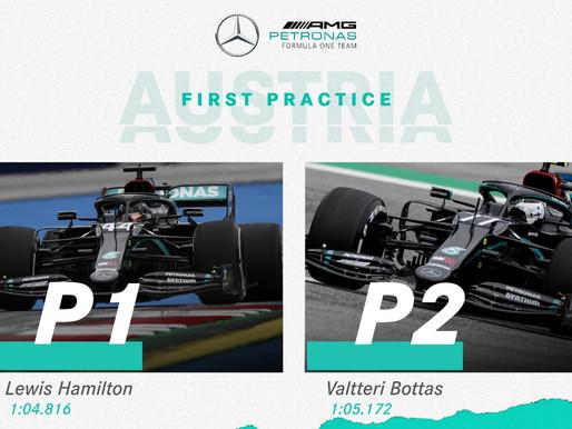 Austria F1 2020 - FP1