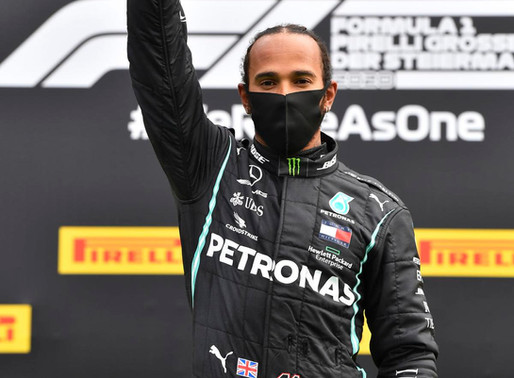 Lewis cruises as chaos reigns in F1. Protests, Domination and the Driver of the Day