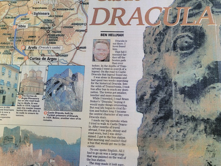 Dracula Revisited: On my long-ago journey to Romania
