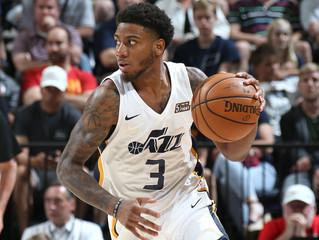 Wright-Foreman Makes Utah Jazz Opening Night Roster