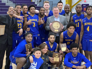 REGION CHAMPS! Monroe Takes Down Harcum in Double Overtime Thriller to Claim Second Straight Region
