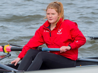 Women's Rowing Competes at Head of the Fish