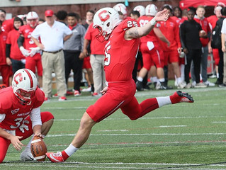 Cortland Battles the Elements to Defeat St. John Fisher, 22-3