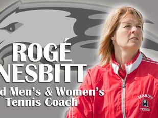 Bard hires Rogé Nesbitt to lead men's and women's tennis programs