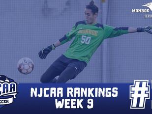 Monroe Mustangs Women's Soccer Enters Postseason Action as No. 1 Team in NJCAA