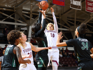 Women's Basketball Downed at Georgetown