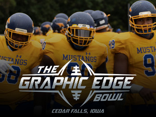 Graphic Edge Bowl Preview: No. 12 Monroe Football Set to Challenge No. 16 Iowa Central in Mustangs'