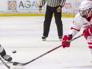 #18 Men's Hockey Opens League Slate At Home vs. Yale, Brown