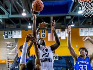 Men's Basketball Notches Big Road Win Against Saint Francis U., 69-66