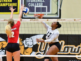 Volleyball downs Eagles for first win of the season