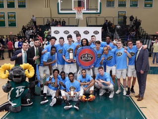 Farmingdale State Wins Skyline Conference Men's Basketball Championship YESHIVA