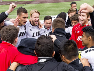 Men's Soccer Scores Late to Beat Bryant 1-0 Sunday