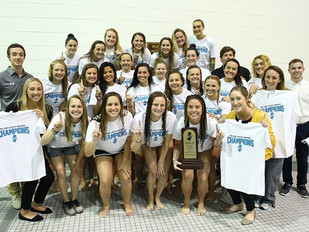 Women's Swimming & Diving Claims NJAC Championship With 218-82 Win Over TCNJ