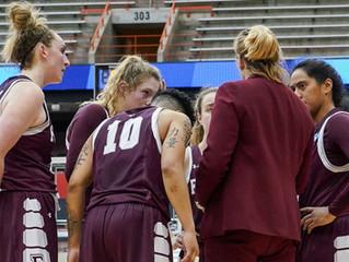 Women's Basketball's Season Ends at Syracuse