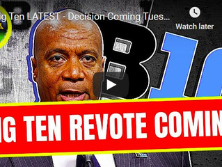 Big Ten LATEST - Decision Coming Monday? (Late Kick Cut)