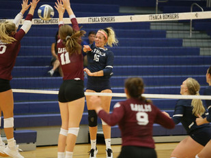 No. 22 Volleyball Posts Doubleheader Sweep Over Rochester, Brockport