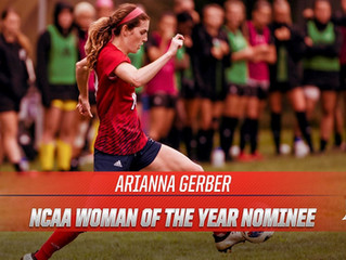 Arianna Gerber Nominated for NCAA Woman of the Year Award