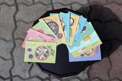 Korean Food Postcard