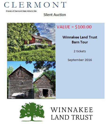 WINNAKEE LAND TRUST BARN TOUR