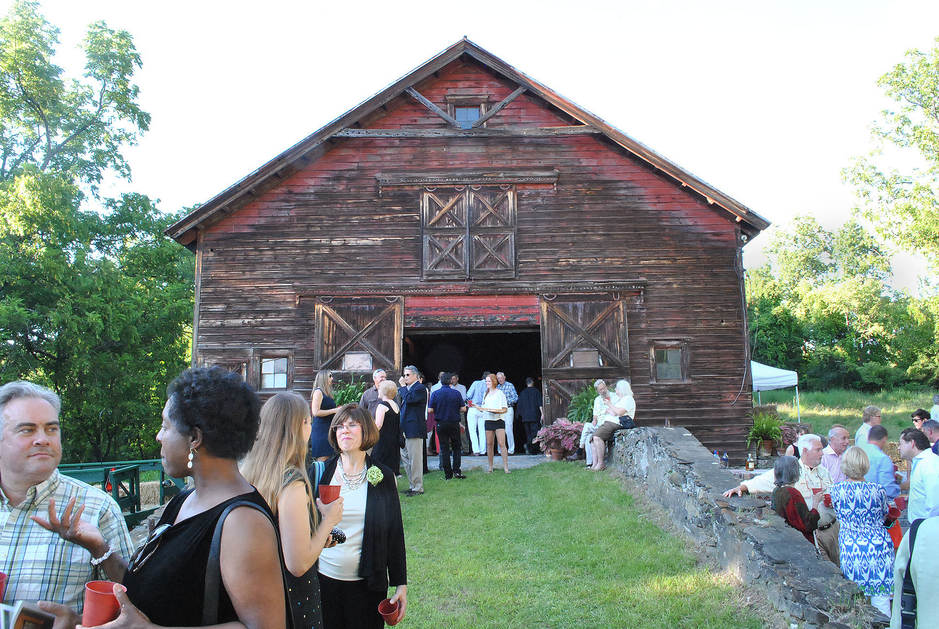 Summer Party at the Barn