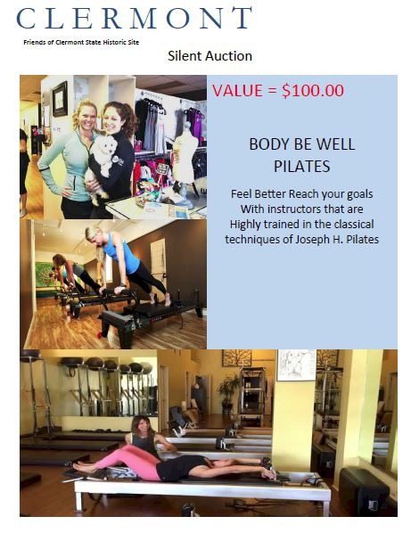 BODY BE WELL PILATES GIFT CARD