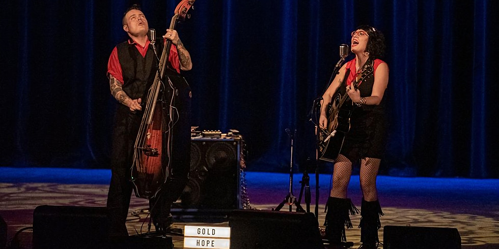 Harmonies on the Hudson Concert Series featuring The Gold Hope Duo