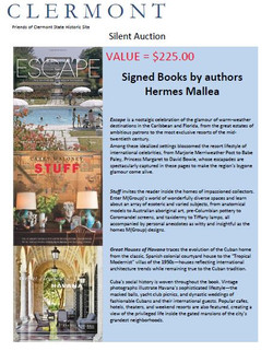 HERMES MELLEA AND CAREY MALONEY SIGNED BOOKS