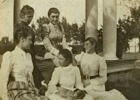1891 Clarkson mother and daughters inclu