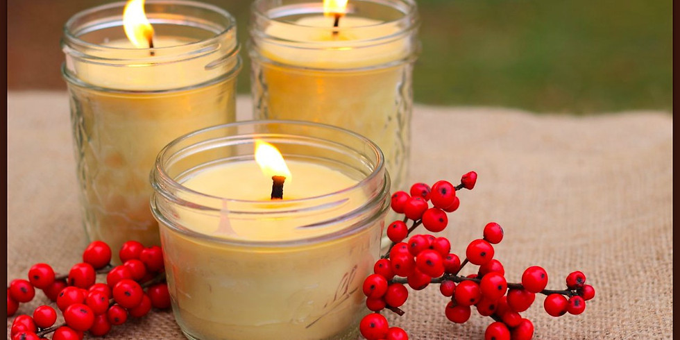 Herb-Infused Candles