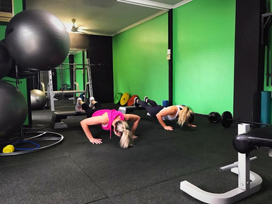 HIIT Style Workout in Our New Area!
