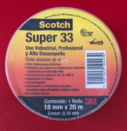 3M SCOTCH SUPER 33