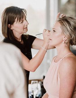 Abbie Hartland Makeup Artist at work.