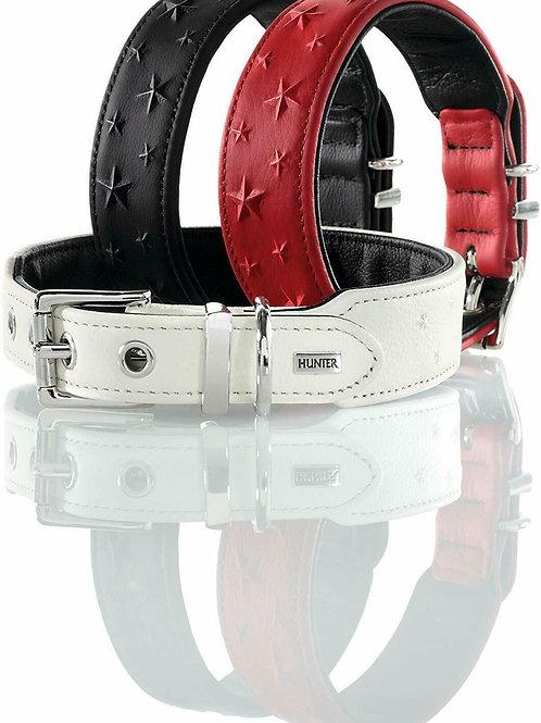 Hunter Relief Stars Nappa Leather Collar
