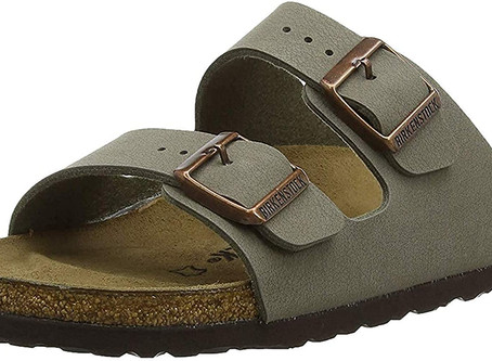 These $ 25 Cork Sandals from Amazon are the knock-off Birkenstocks you need for the summer