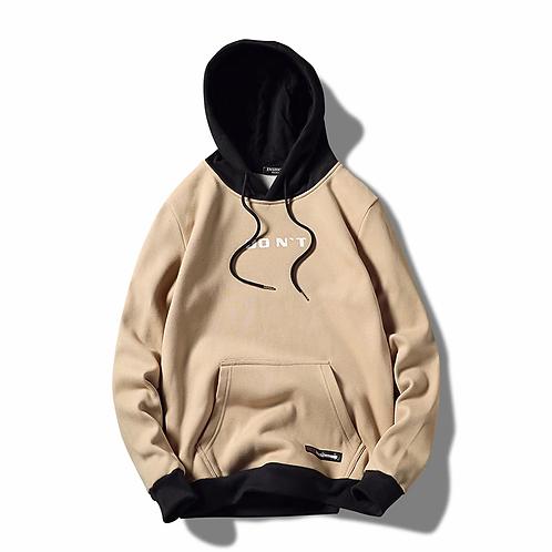 New Fashion Hoodie Streetwear Hip Hop Patchwork Hooded Jersey Hoody Men's Hoodie