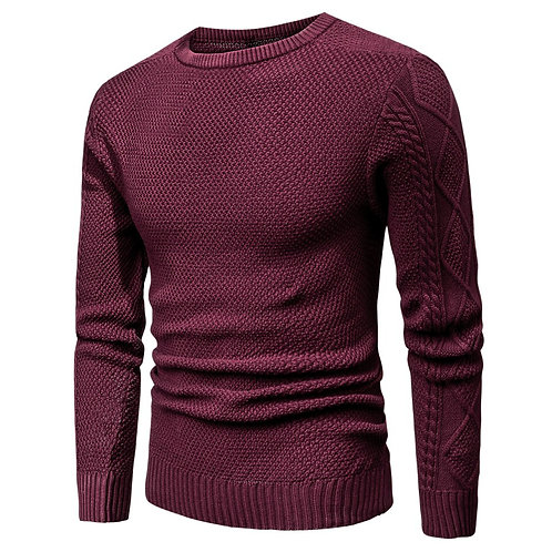 2020 Spring Casual Cotton Warm Sweater Pullovers Men Autumn Fashion 3D Sweater
